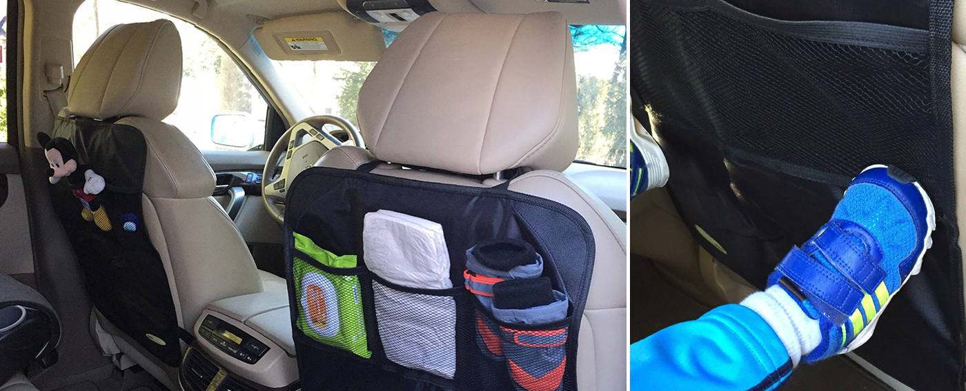 Kick Mats - Car Back Seat Protectors